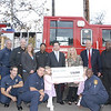 Fire Station #63 receives $10,000 donation :