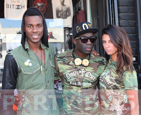 Ear Bombz Presents Supermodel Sam Sarpong Launch of Future Stars Collection at Scream Famous