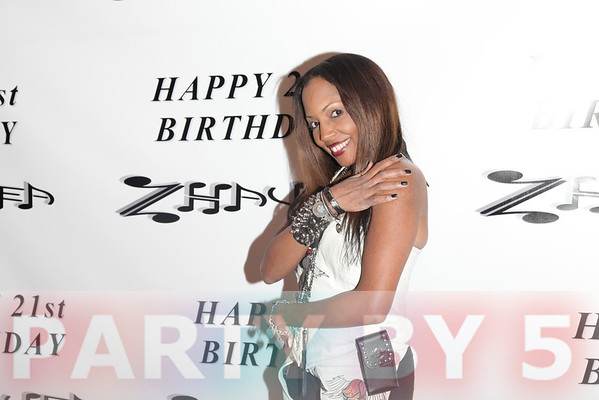 Pop Artist Zhavea's 21st Birthday Bash at a Private Mansion in Hollywood