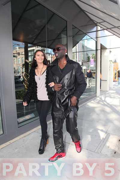 Sam Sarpong spotted in Beverly Hills on December 5, 2012