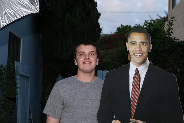 Edgar Saenz hosts Obama Inaguration Ball