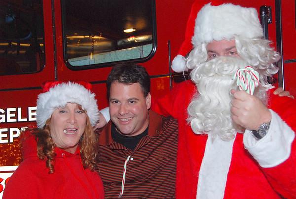 Santa Sightings in Westchester & Playa Vista